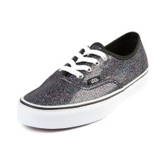 Shop for Vans Authentic Glitter Skate Shoe in Black Glitter at Shi by  Journeys. Shop 93ae997a1