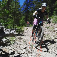 """Its been at least 5 years since I rode the standard Monarch Crest trail.  Usually I'm """"starving""""  35 miles of fun. Rider:@brittanykonsella #coloradogram #bikes #colorado #mtb #monarchcrest #mountainbiking #toomanychoices #Gunnison #salida #dirt #14erskiers #earnyourbeer #biking #rockymountains"""