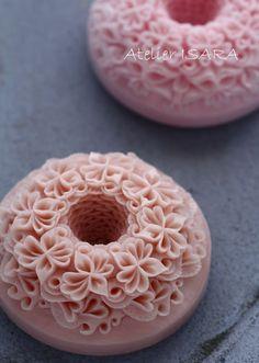 アトリエイサラ ソープカービングSoap carving work#craft#石鹸彫刻#Soap flower