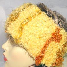 Super Soft Head Warmer -Sunshine, Paradis Terrestre Modern Hippie, Handmade Headbands, Unique Cards, Sunshine, Luxury, Stuff To Buy, Homemade Headbands