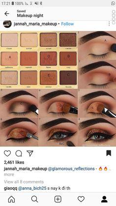 Easy Eye Makeup Tutorials For Blue Eyes Makeup Goals, Love Makeup, Makeup Inspo, Beauty Makeup, Eye Makeup Steps, Natural Eye Makeup, Eyeshadow Looks, Eyeshadow Makeup, Eyeshadows