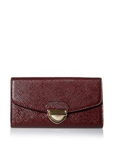 SOCIETY NEW YORK Women's Clasp Closure Wallet, Bordeaux, http://www.myhabit.com/redirect/ref=qd_sw_dp_pi_li?url=http%3A%2F%2Fwww.myhabit.com%2Fdp%2FB0118Y7KZ4%3F