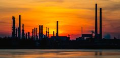 Industrial silhouette by Juergen Huettel Photography