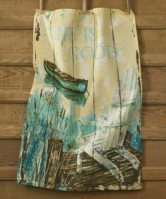 Take a look at this Lake House Dish Towel by Park Designs on #zulily today!