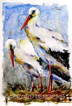 Watercolor Animals, Watercolor Paintings, Birds, Art, Watercolor, Watercolour Paintings, Bird, Watercolor Drawing, Kunst