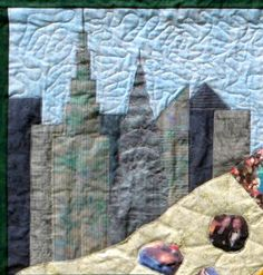 quilt of New York Skyline  | New York City: Neil Diamond Quilt
