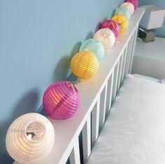 Paper Lantern String - lighting
