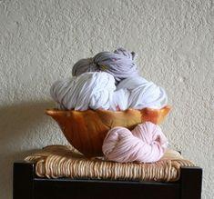 T-shirt yarn....definitely gets me thinking by ilene
