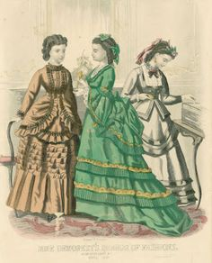 April, 1870 - Mme Demorest's Mirror of Fashions
