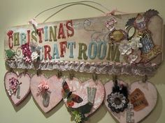 I want to make something like this for the door to my craft room.