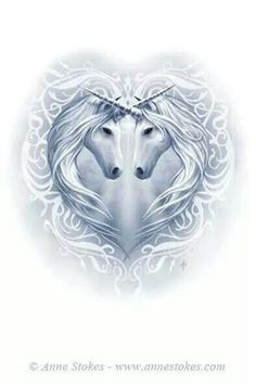 Art by Anne Stokes (Ironshod) Unicorn Fantasy Myth Mythical Mystical Legend Licorne Enchantment Einhorn unicorno unicornio Единорог jednorožec Eenhoorn yksisarvinen jednorożca unicórnio Egyszarvú Kirin Unicorn And Fairies, Unicorn Fantasy, Unicorn Art, Magical Unicorn, Unicorn Head, Unicorn Quotes, Beautiful Unicorn, Unicorn Makeup, Unicorn Crafts