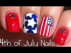 4th of July Nail Art Tutorial
