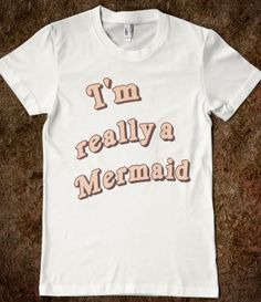 Abby needs this! I think she used her last two birthday wishes to wish she was a mermaid...
