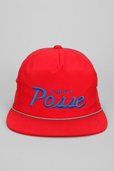 4760a31cf96 OBEY Lo Posse Snapback Hat Online Only New Colors Available Stylish Suit