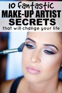 From foundation application, to how to hide acne scars, to how to make your nose look smaller, to how to cover dark circles, this collection of 10 makeup tutorials will teach you the most amazing secrets of makeup artists everywhere!