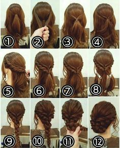 12 Amazing Updo Ideas for Women with Short Hair Best Hairstyle Ideas is part of Braided hairstyles - Check out these 12 amazing and gorgeous hair updo ideas for women with short hair Hair updo Ideas Updo for short hair easy updo Medium Hair Styles, Curly Hair Styles, Hair Medium, Fancy Hairstyles, Bouffant Hairstyles, Asian Hairstyles, Hairstyle Ideas, Hairstyle Short, Bangs Hairstyle