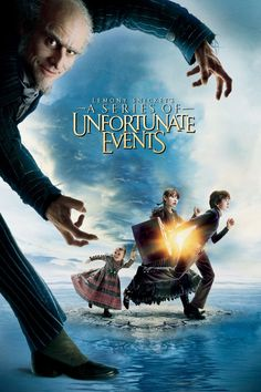 Lemony Snicket's A Series of Unfortunate Events movie poster - #poster, #bestposter, #fullhd, #fullmovie, #hdvix, #movie720pThree wealthy children's parents are killed in a fire. When they are sent to a distant relative, they find out that he is plotting to kill them and seize their fortune. This movie is extremely alarming, an expression which here means \