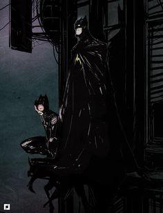 Jebedaï – DC and Marvel Art - Fan art Catwoman Batman Catwoman Cosplay, Batman Et Catwoman, Batgirl, Fanart Batman, Batman Fan Art, I Am Batman, Ms Marvel, Marvel Art, Marvel Dc Comics