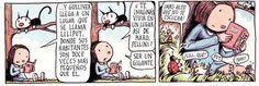 caramelosdefrutilla:  Macanudo - Liniers. Alter Ego, Peanuts Comics, Writer, Reading, Words, Funny, Blog, Grande, Spanish