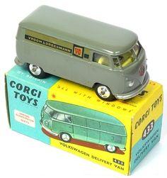Corgi Toys rare promo Vroom & Deeesman Van