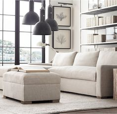 The Petite Maxwell Upholstered Left-Arm Sofa Chaise Sectional
