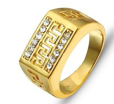 Buy Designer & Fashionable Simple Ring For Men. We have a wide range of traditional, modern and handmade Bands Mens Rings Online Mens Ring Designs, Gold Ring Designs, Gents Gold Ring, Gold Ring Images, Stone Rings For Men, Women's Earrings, Silver Earrings, Mens Rings Online, Men's Jewelry Rings