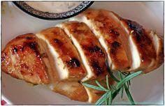 marinierte Hähnchenbrust aus dem Ofen
