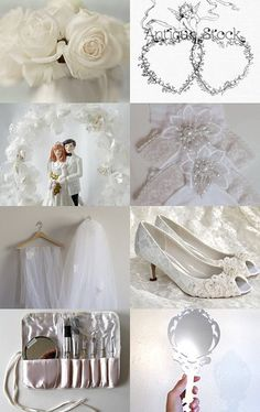 2017 And The Bride Wore .................................White by Marilyn on Etsy--Pinned with TreasuryPin.com