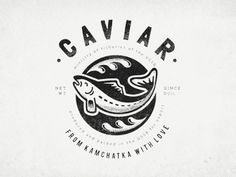 caviar clothes print by Olga Vasik