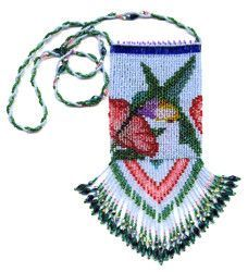 Beaded Hummingbird Hand Bag Beading Pattern and Kit. (Click on photo to go to this on our site). $27.95