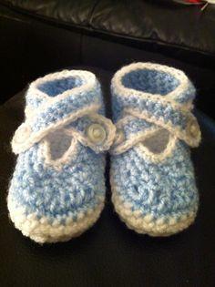 Hand Crochet Baby Boys Shoes