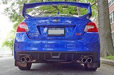 Rally Armor 2015 Subaru WRX & STI Sedan Black UR Mud Flaps w/ Red Logo