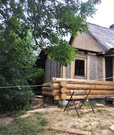 Cabin, House Styles, Wood, Life, Home Decor, Decoration Home, Woodwind Instrument, Room Decor, Cabins