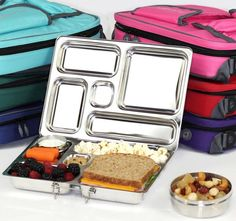 Biome's PlanetBox Lunchbox Giveaway. Day 5 of The Great Christmas Giveaway week is stainless steel, litter free PlanetBox!