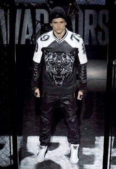 Philipp Plein • MMU FW 2015/2016 • Camera Nazionale della Moda Italiana Fashion Tag, Mens Fall, Fall Winter 2015, Punk, Tags, Style, Italian Fashion, Swag, Punk Rock