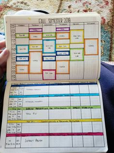 Easy Bullet Journal Ideas To Well Organize & Accelerate Your Ambitious Goals Bullet Journal School, Bullet Journal 2019, Bullet Journal Layout, My Journal, Bullet Journal Inspiration, Journal List, Bullet Journal Grade Tracker, Bullet Journal Timetable, Bullet Journals
