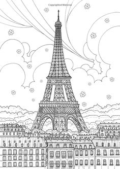 Paris Coloring pages i watch Coloring pages to print Cities