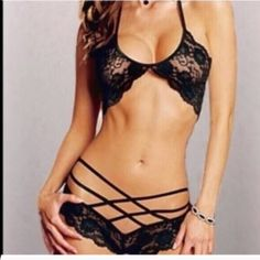 Black Lace Lingerie Brand new! Intimates & Sleepwear Panties