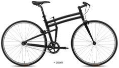 Montague BOSTON folding bicycle with reversible fixed/freewheel hub