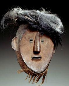 Statues, Art Beauté, Belgian Congo, Ceramic Mask, Clown Mask, Head Mask, Museum, Masks Art, African Masks