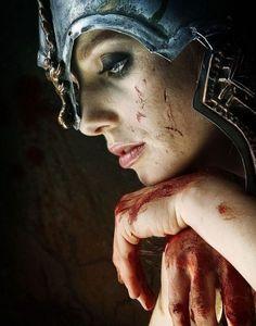 Dark Fantasy Women Warrior   So tired ...