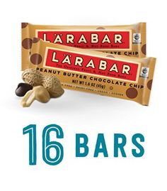 Larabar Gluten Free Snack Bars, Peanut Butter Chocolate Chip, 1.6 Ounce Bars (16 Count) https://www.amazon.com/Larabar-Gluten-Peanut-Butter-Chocolate/dp/B003ZMXYMG/ref=as_li_ss_tl?ie=UTF8&psc=1&refRID=EBBT3CE5WARR7AZDB3AN&linkCode=ll1&tag=pinterest08e0-20&linkId=ce074a37a87c23d209f5e2960400b9f9
