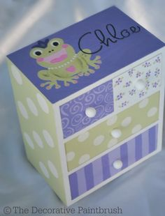Jewelry BoxPersonalized GiftFlower Girl by TheDecorativeBrush, $26.00