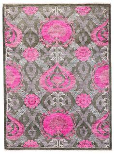 "Suzani Collection Oriental Rug, 5'1"" x 7'1"""