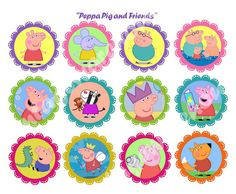 He encontrado este interesante anuncio de Etsy en https://www.etsy.com/es/listing/187093953/peppa-pig-and-friends-craft-circles