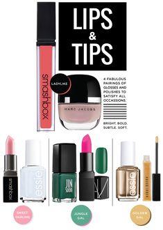 TOP NOTCH Polish & Lip Pairings