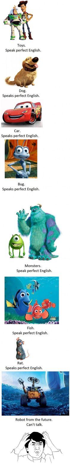 Disney / Pixar Logic
