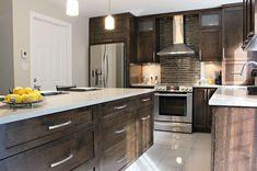 Kitchen Tops, Kitchen Cabinets, Kitchen Ideas, Decor Interior Design, Interior Decorating, Armoire Design, House Plans, House Design, Architecture