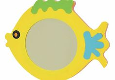 Edushape Magic Fish Bath Mirror Specially designed for use in the bath, this fun, fish shaped mirror will float in water and stick to any smooth, wet surface. Ideal for admiring shampoo hair style. (Barcode EAN=7290005076619) http://www.comparestoreprices.co.uk/baby-toys/edushape-magic-fish-bath-mirror.asp