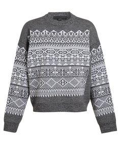 ALEXANDER WANG | Fair Isle Wool Knit